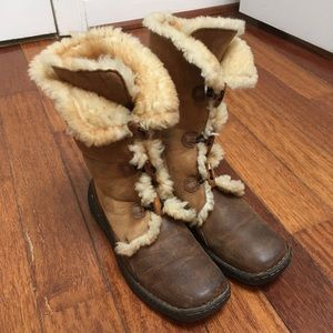 Born Shearling Lined Winter Boots